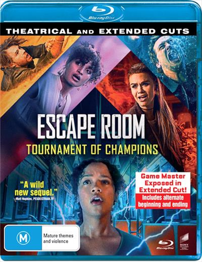 Escape Room - Tournament Of Champions | Blu-ray