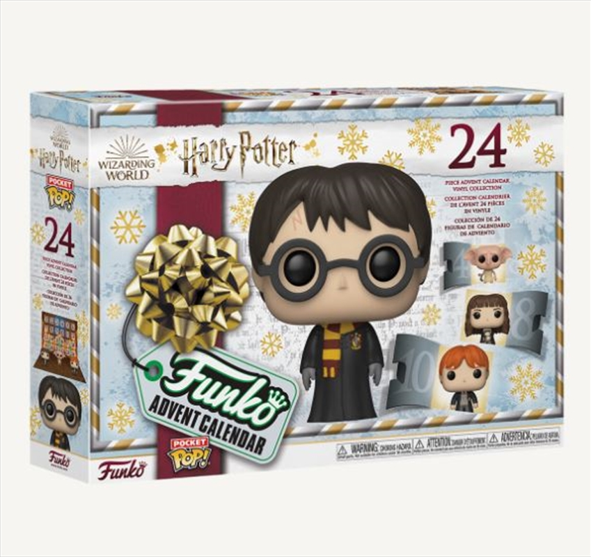 Harry Potter - 2021 Pocket Pop! Advent Calendar   Pop Vinyl
