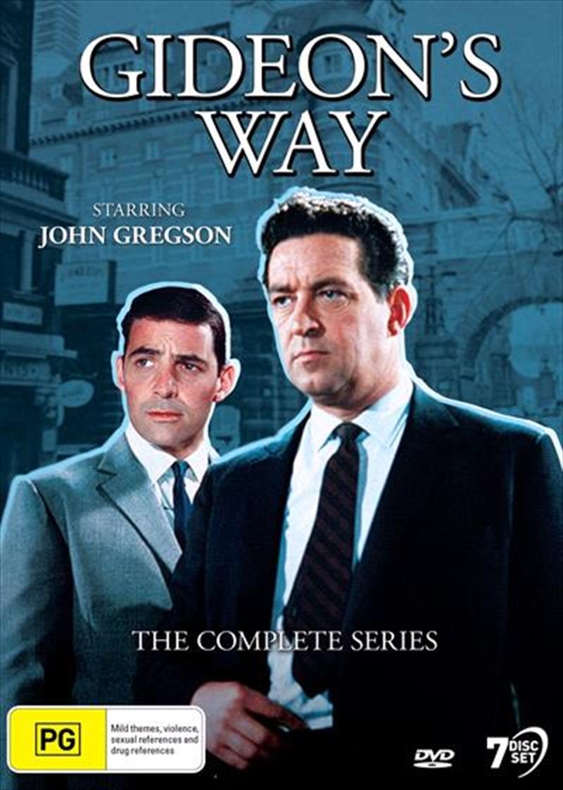 Gideon's Way   Complete Series   DVD