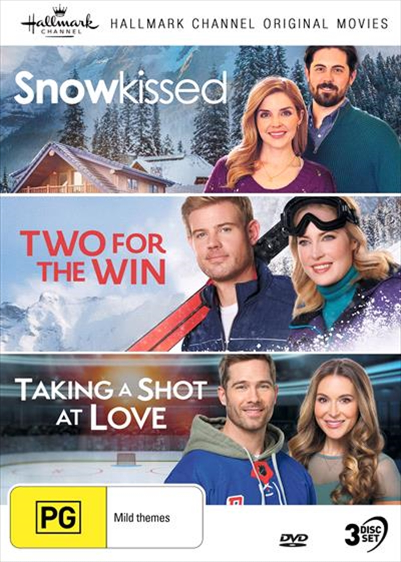 Hallmark - Snowkissed / Two For The Win / Taking A Shot At Love - Collection 14 | DVD