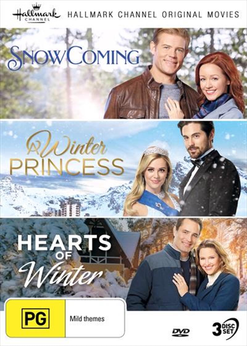 Hallmark - Snowcoming / Winter Princess / Hearts Of Winter - Collection 15 | DVD