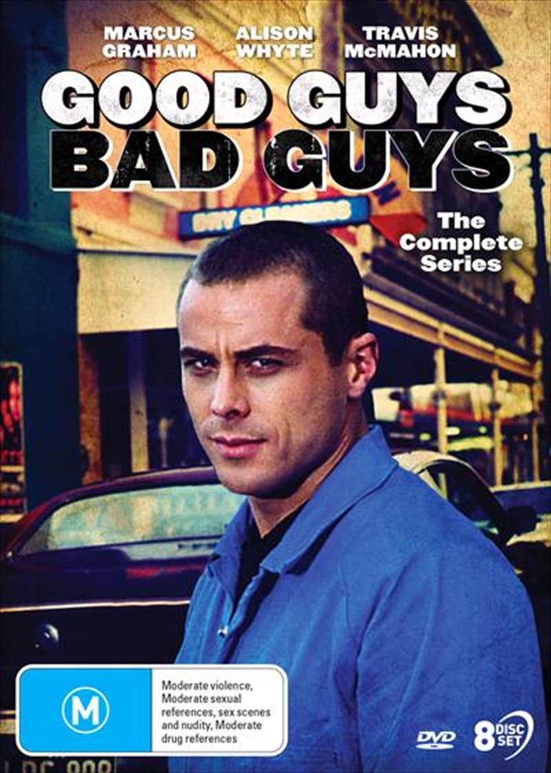 Good Guys, Bad Guys   Complete Series   DVD