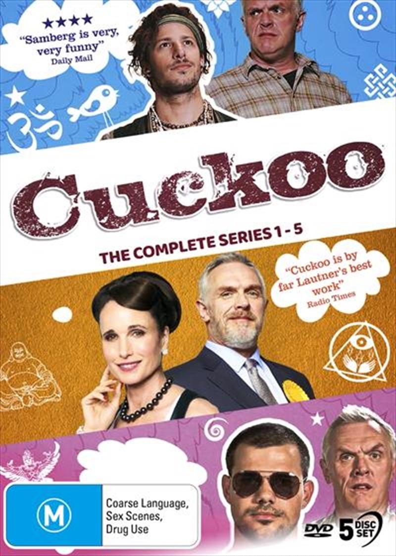 Cuckoo - Series 1-5 | Complete Series | DVD