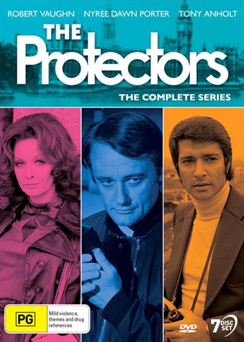 Protectors   Complete Series, The   DVD