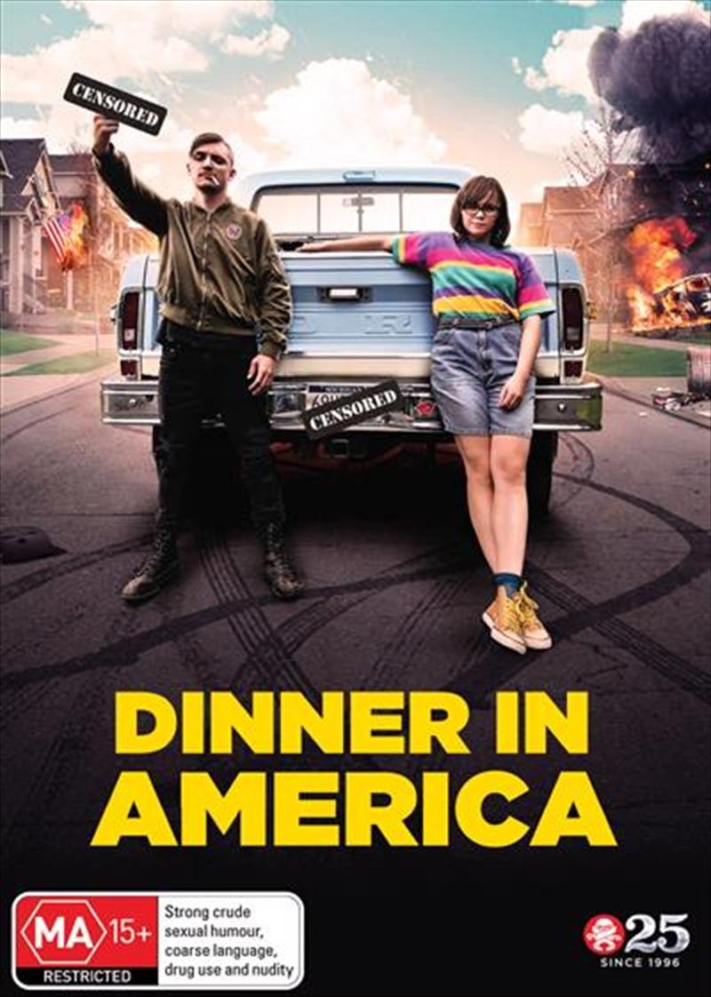 Dinner In America   DVD