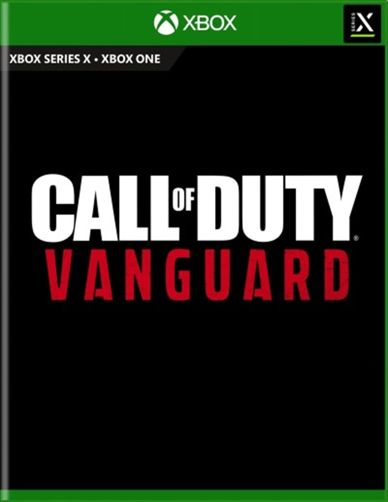 Call Of Duty Vanguard   XBOX Series X