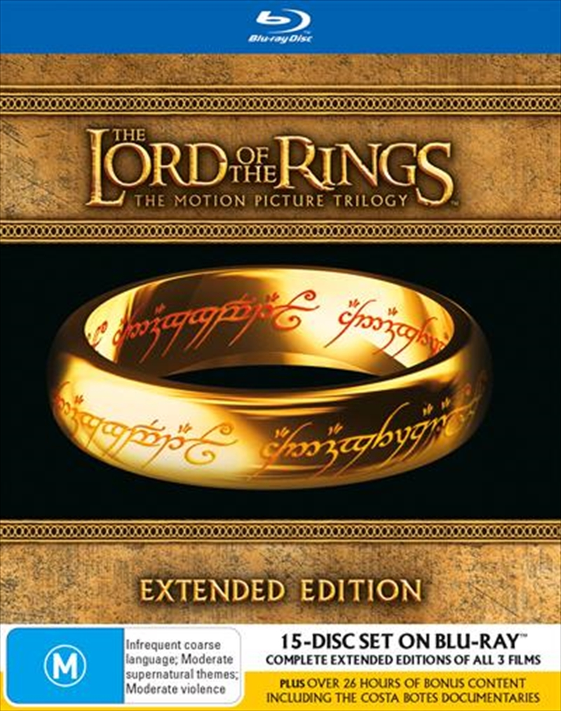 Lord Of The Rings - Extended Edition | Box Set | Blu-ray