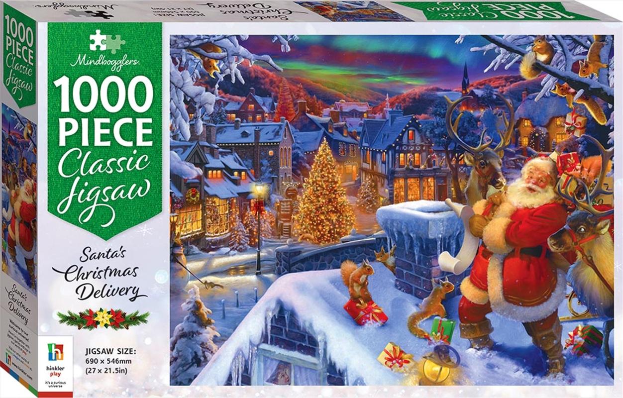 Santas Christmas Delivery 1000 Piece Puzzle   Merchandise