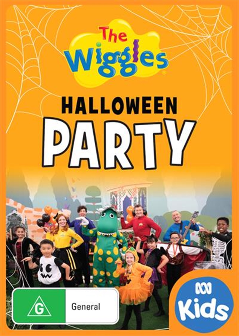 Wiggles - Halloween Party   DVD