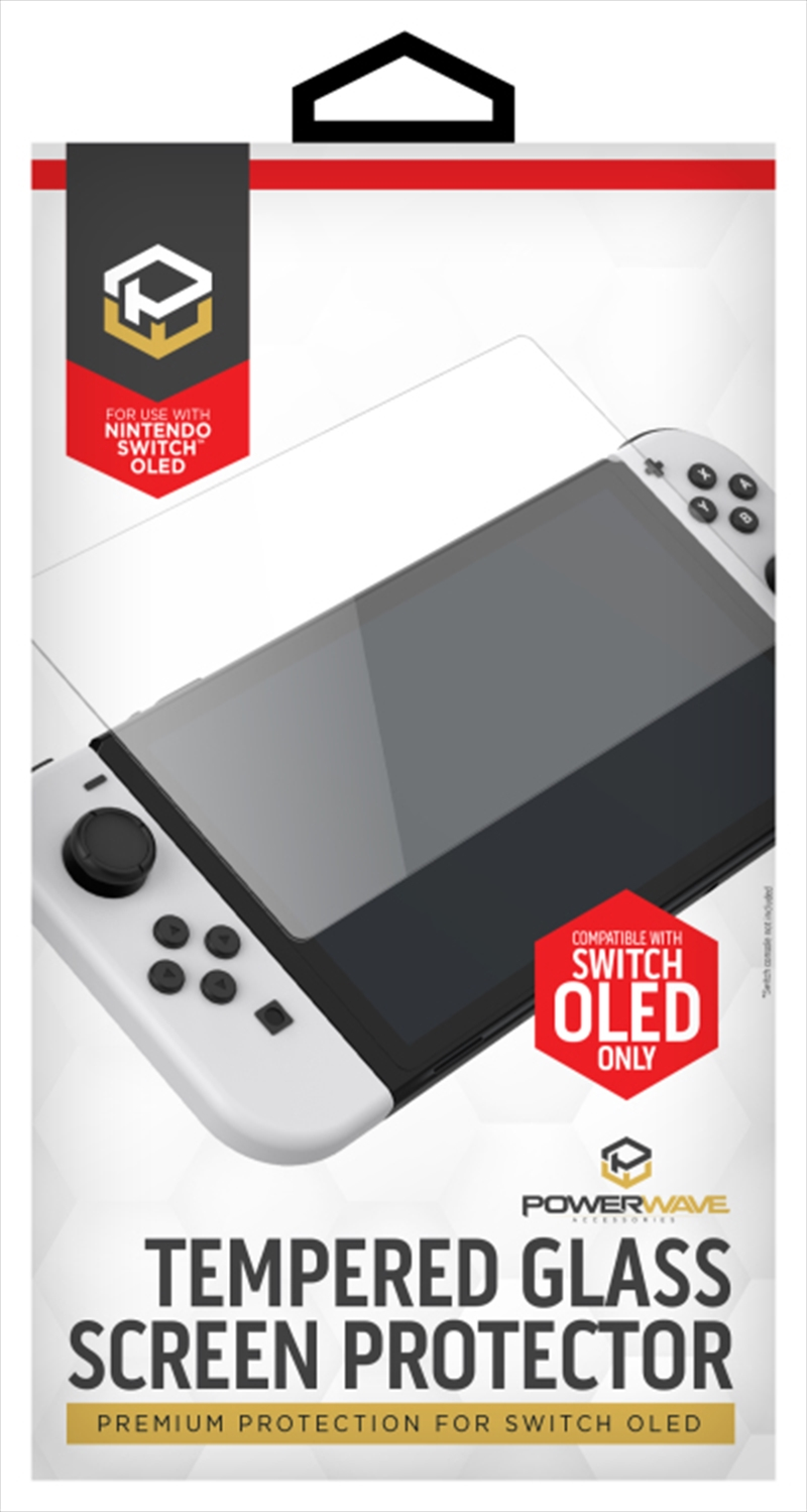 Powerwave Switch OLED Glass Screen Protector   Nintendo Switch