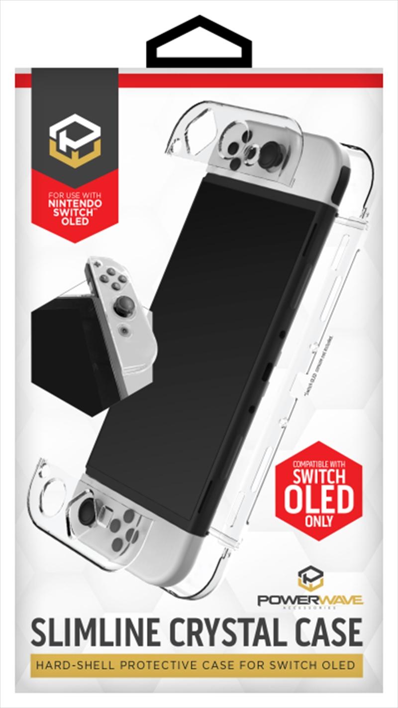 Powerwave Switch OLED Slimline Crystal Case   Nintendo Switch
