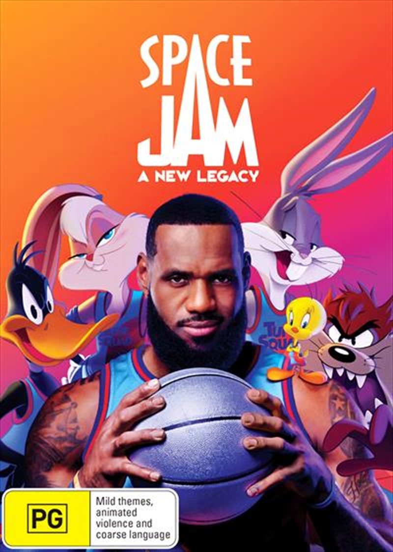 Space Jam - A New Legacy   DVD