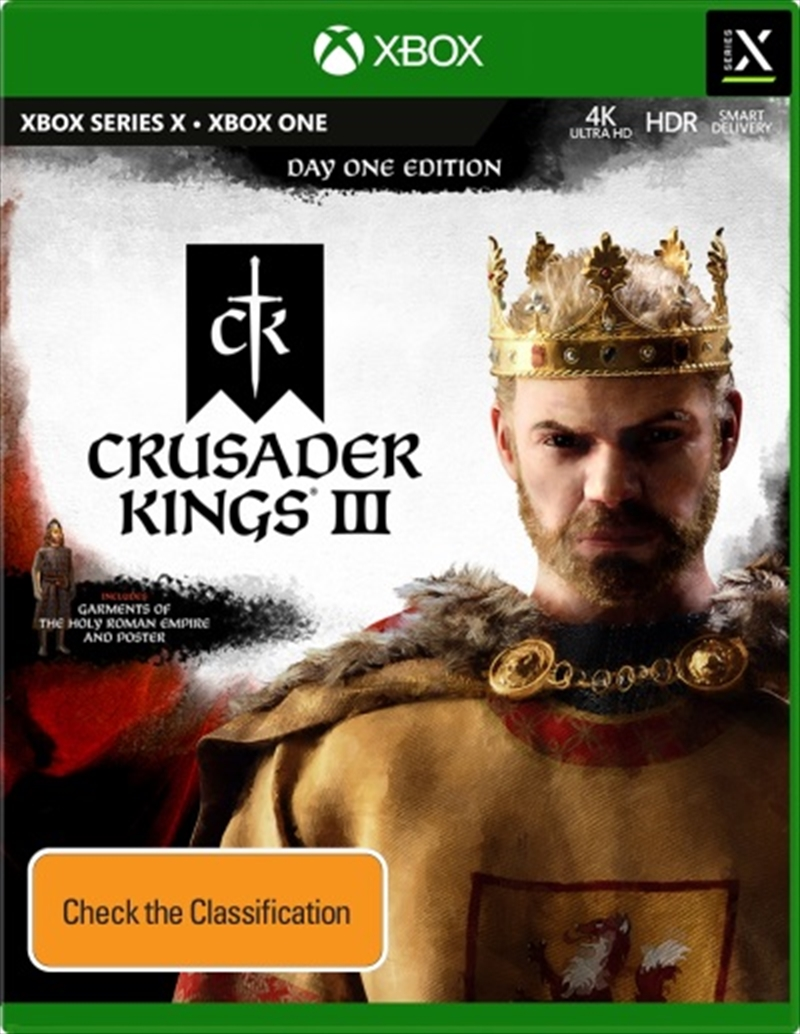Crusader Kings 3 Day One Edition   XBOX Series X
