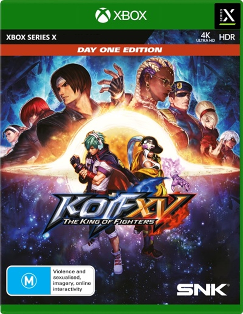 The King of Fighters XV Day One Edition   XBOX Series X