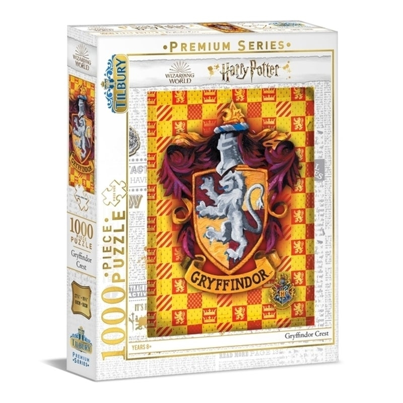 Harry Potter Gryffindor 1000 Piece Puzzle   Merchandise