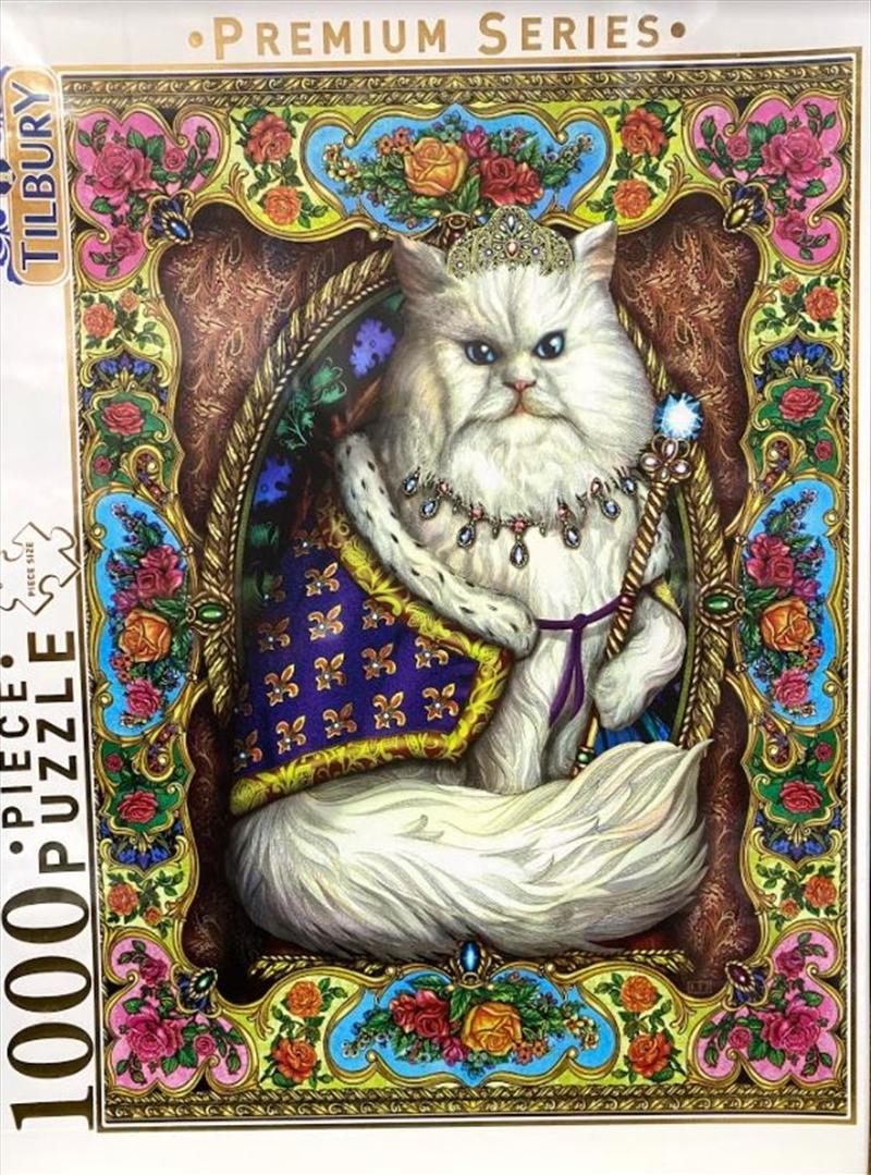 Regal Cat Comical Animals 1000 Piece Puzzle | Merchandise