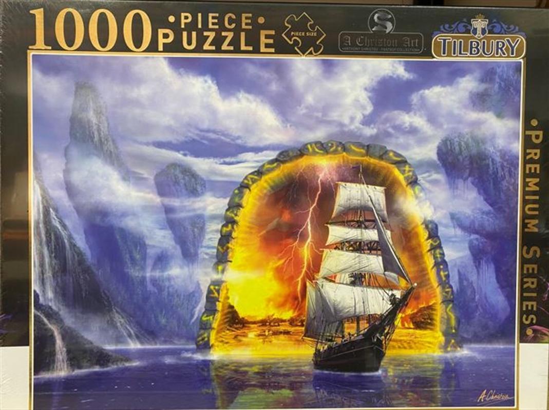 Tall Ship Portal 1000 Piece Puzzle   Merchandise