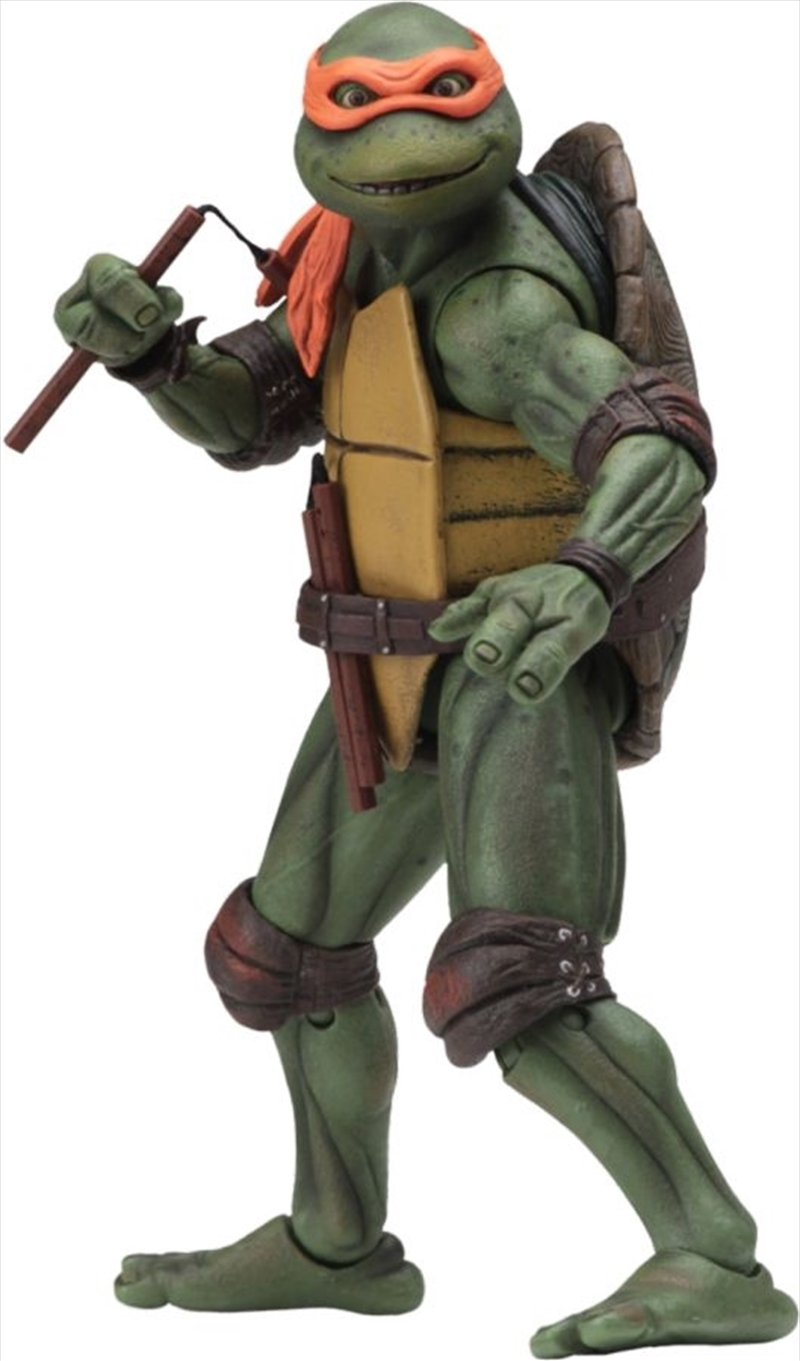"Teenage Mutant Ninja Turtles (1990) - Michelangelo 7"" Action Figure   Merchandise"