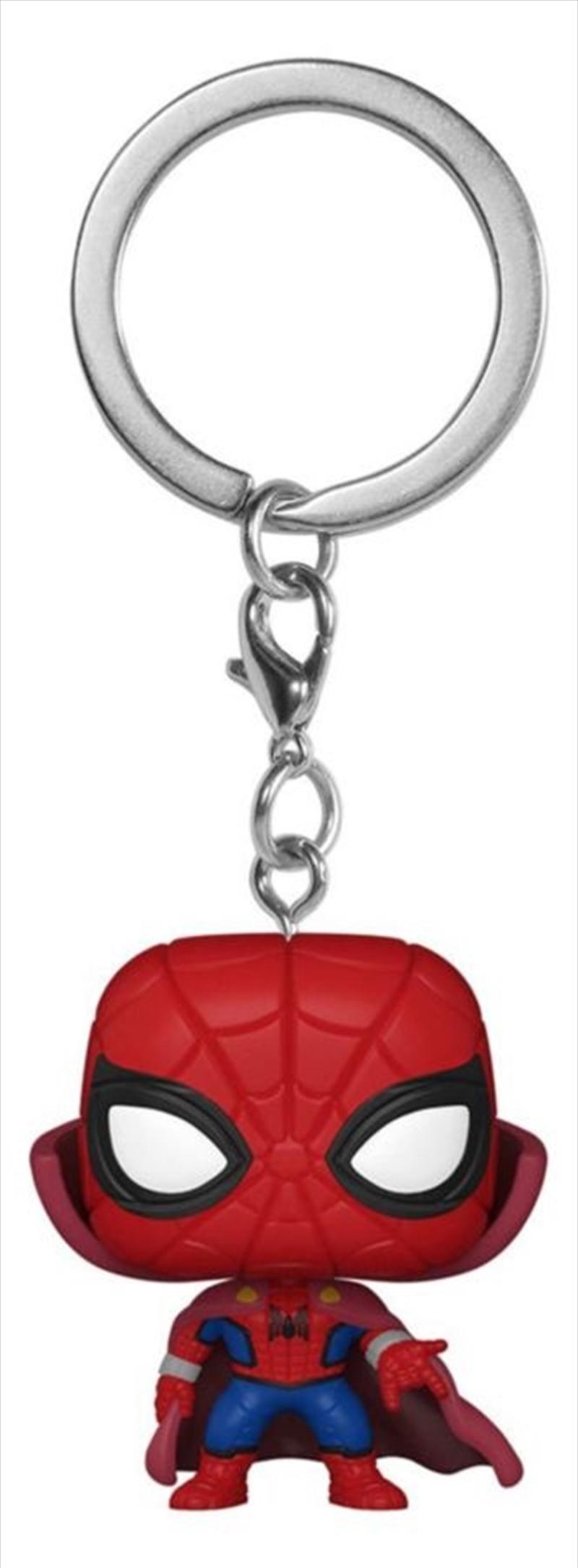 What If - Spider-Man Zombie Hunter Pocket Pop! Keychain | Pop Vinyl