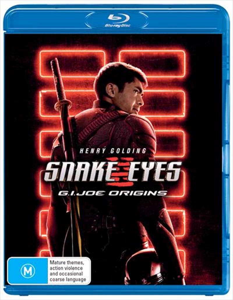 Snake Eyes - G.I. Joe Origins   Blu-ray