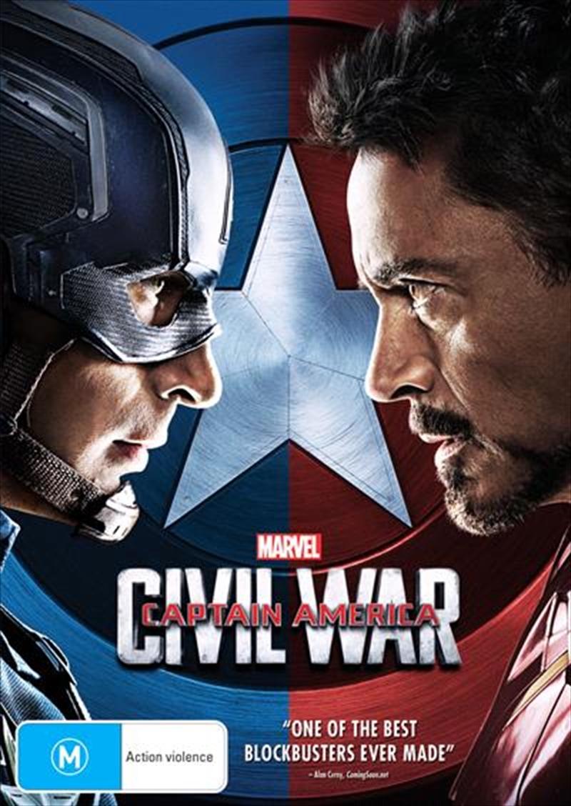 Captain America - Civil War | DVD