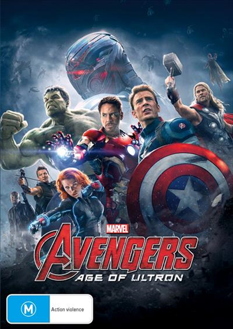 Avengers - Age Of Ultron   DVD