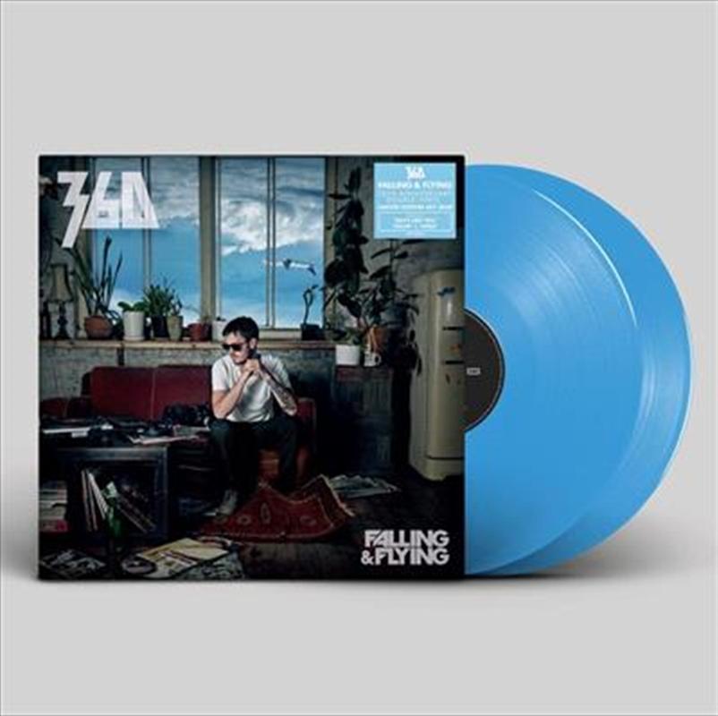 Falling And Flying  - Solid Blue Vinyl (BONUS LOGO STICKER) | Vinyl