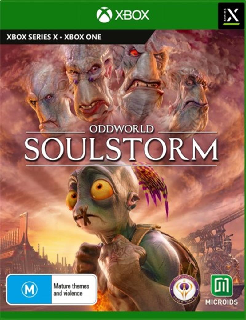 Oddworld Soulstorm Day One Oddition | XBOX Series X