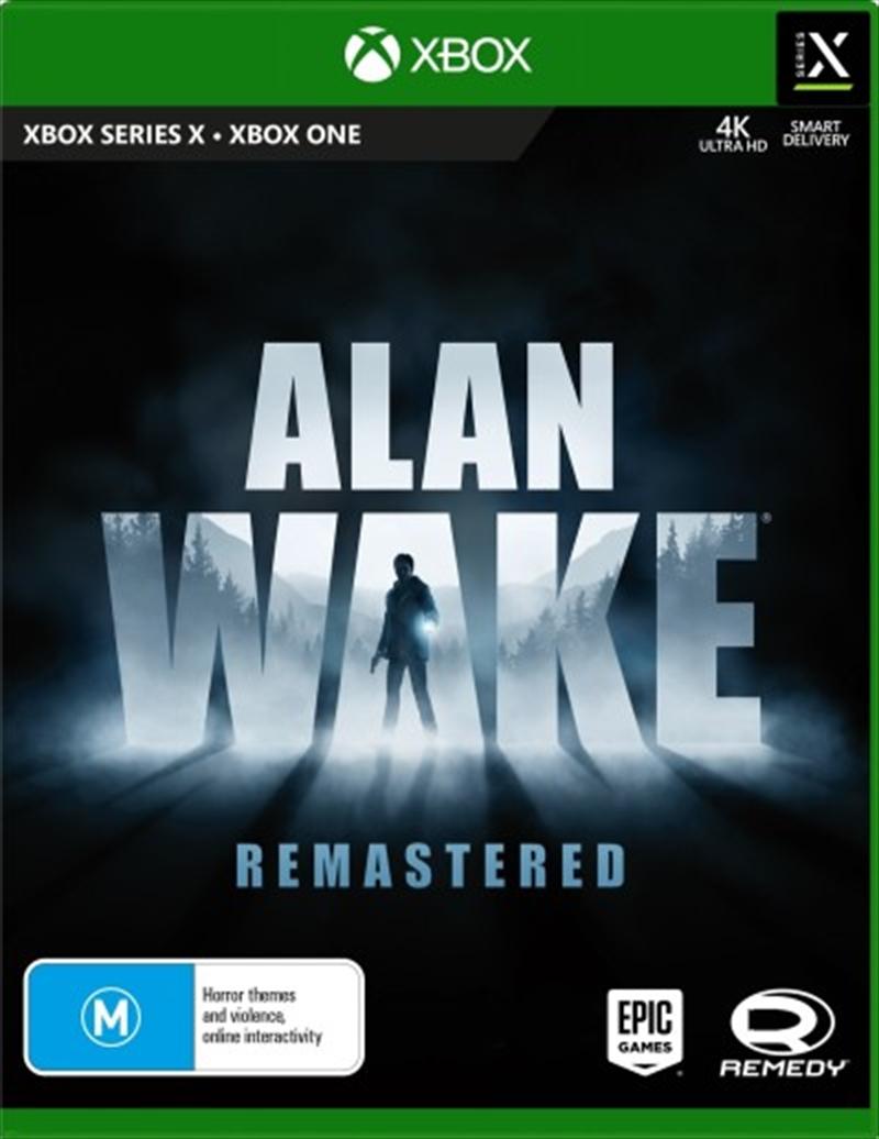 Alan Wake Remastered   XBOX Series X