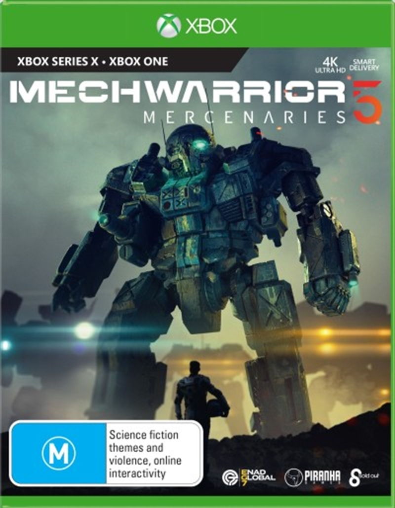 Mechwarrior 5 Mercenaries   XBOX Series X