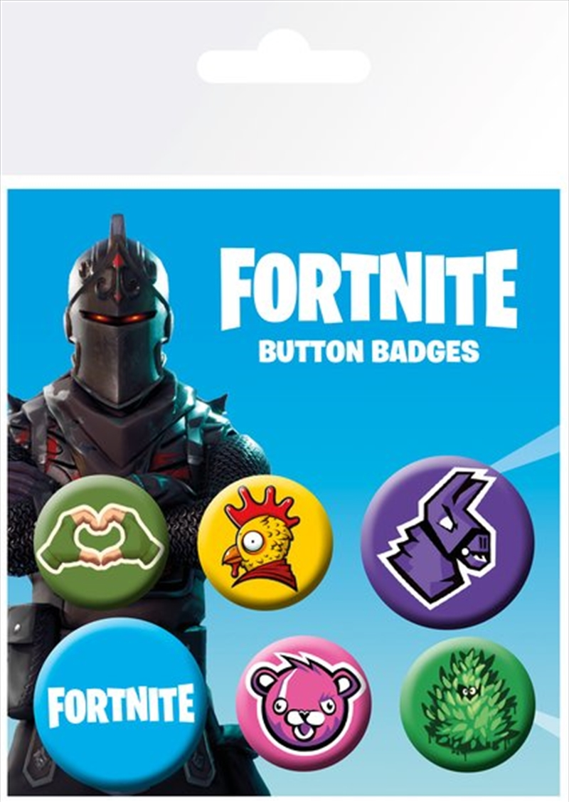 Fortnite Icons Badge Mix   Merchandise