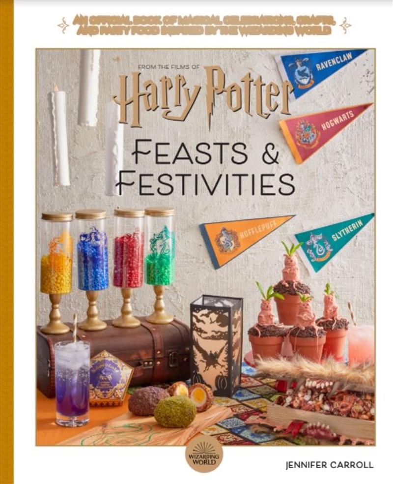 Harry Potter - Feasts And Festivities | Hardback Book