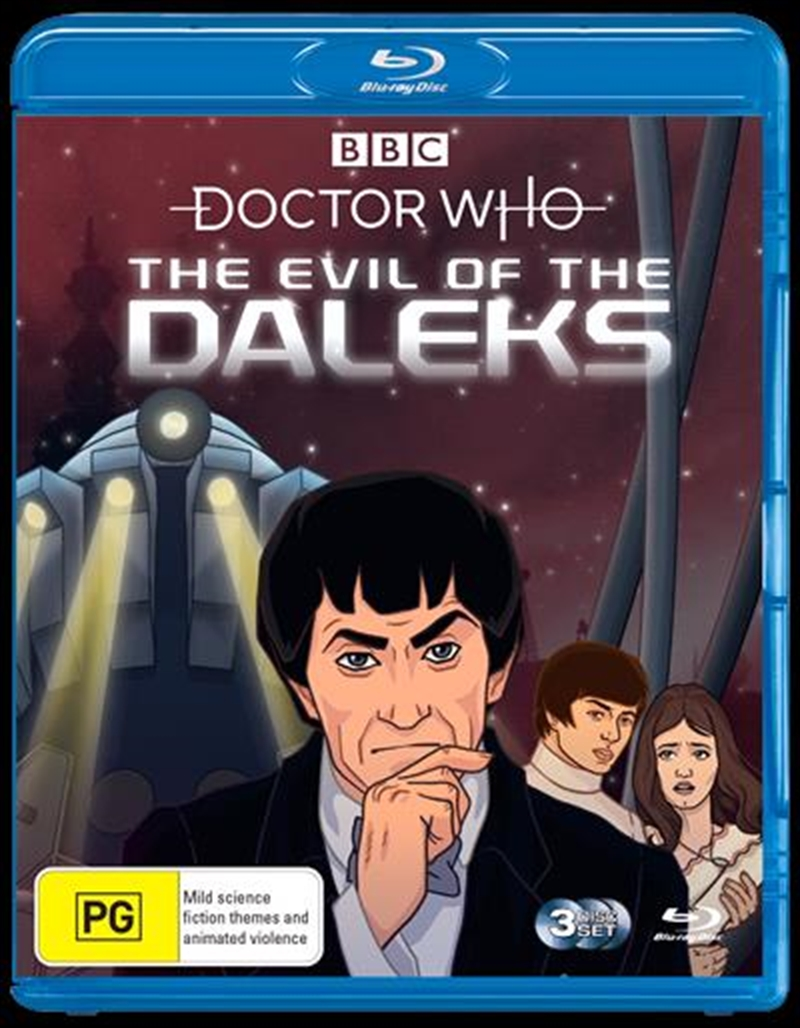 Doctor Who - Evil Of The Daleks   Blu-ray