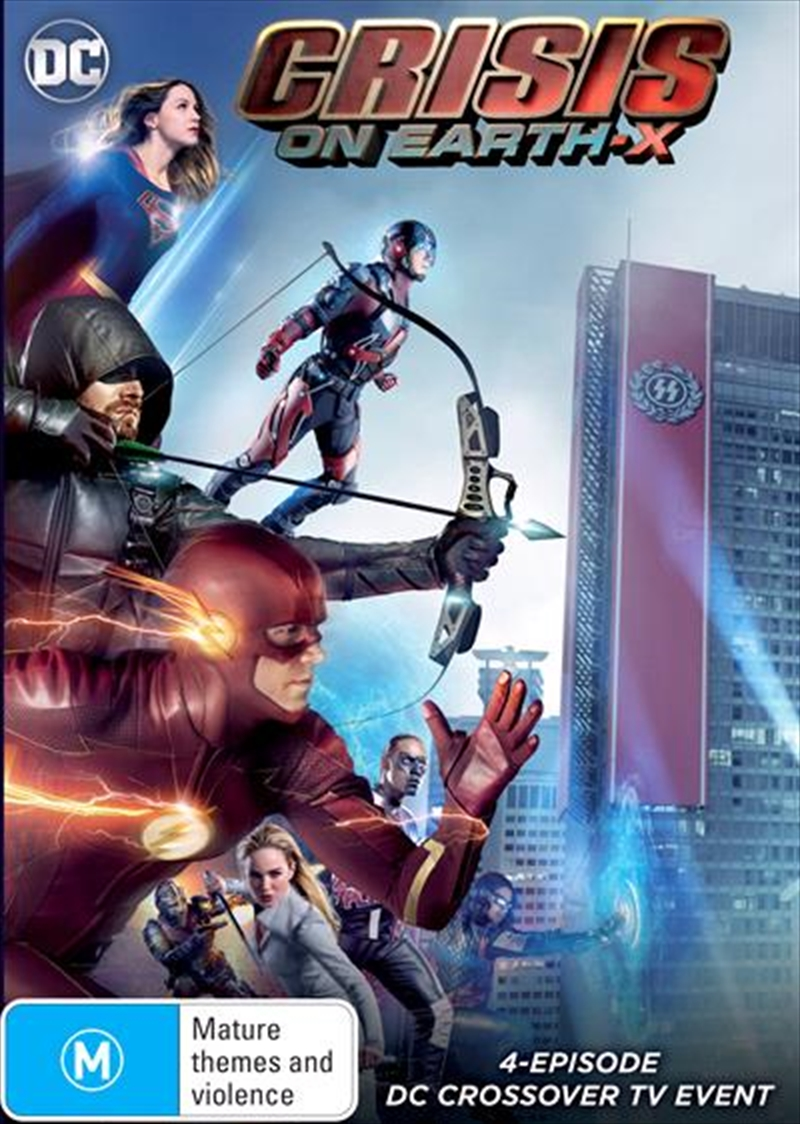 Crisis on Earth-X DC Crossover | DVD