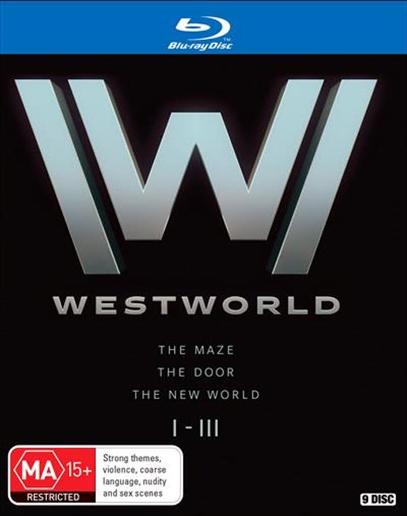 Westworld - Season 1-3 | Boxset | Blu-ray