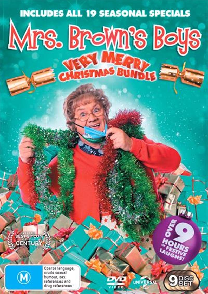 Mrs. Brown's Boys   2021 Christmas Boxset   DVD