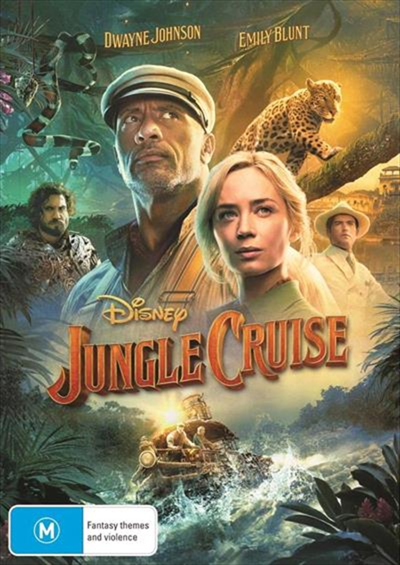 Jungle Cruise   DVD