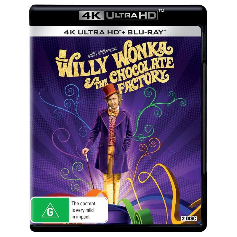 Willy Wonka And The Chocolate Factory | UHD