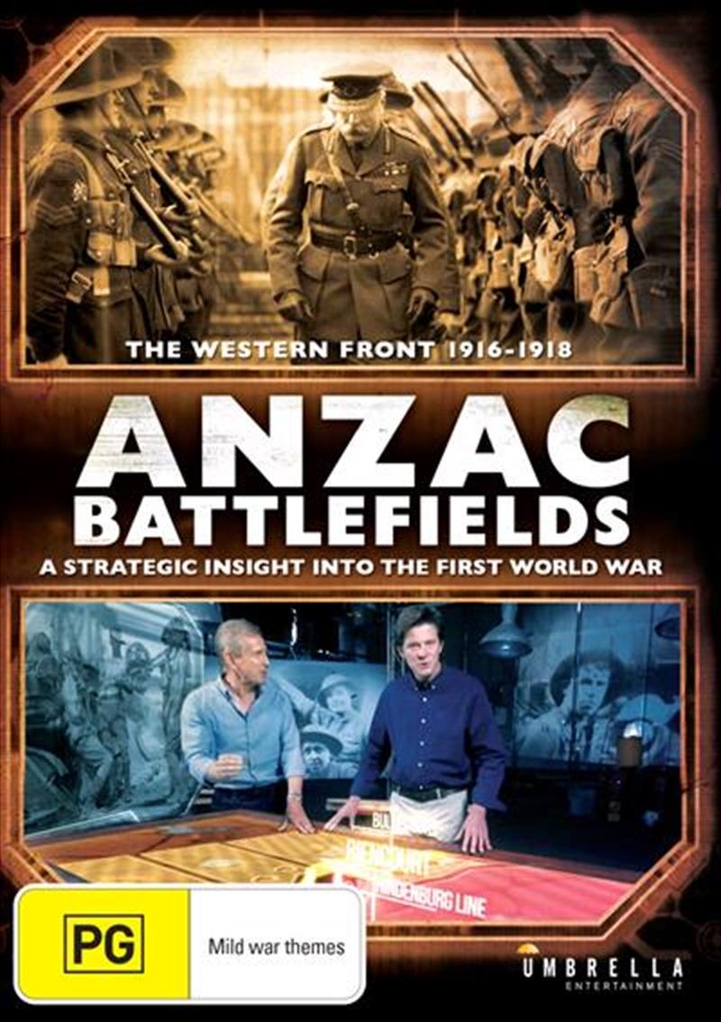 ANZAC Battlefields   DVD