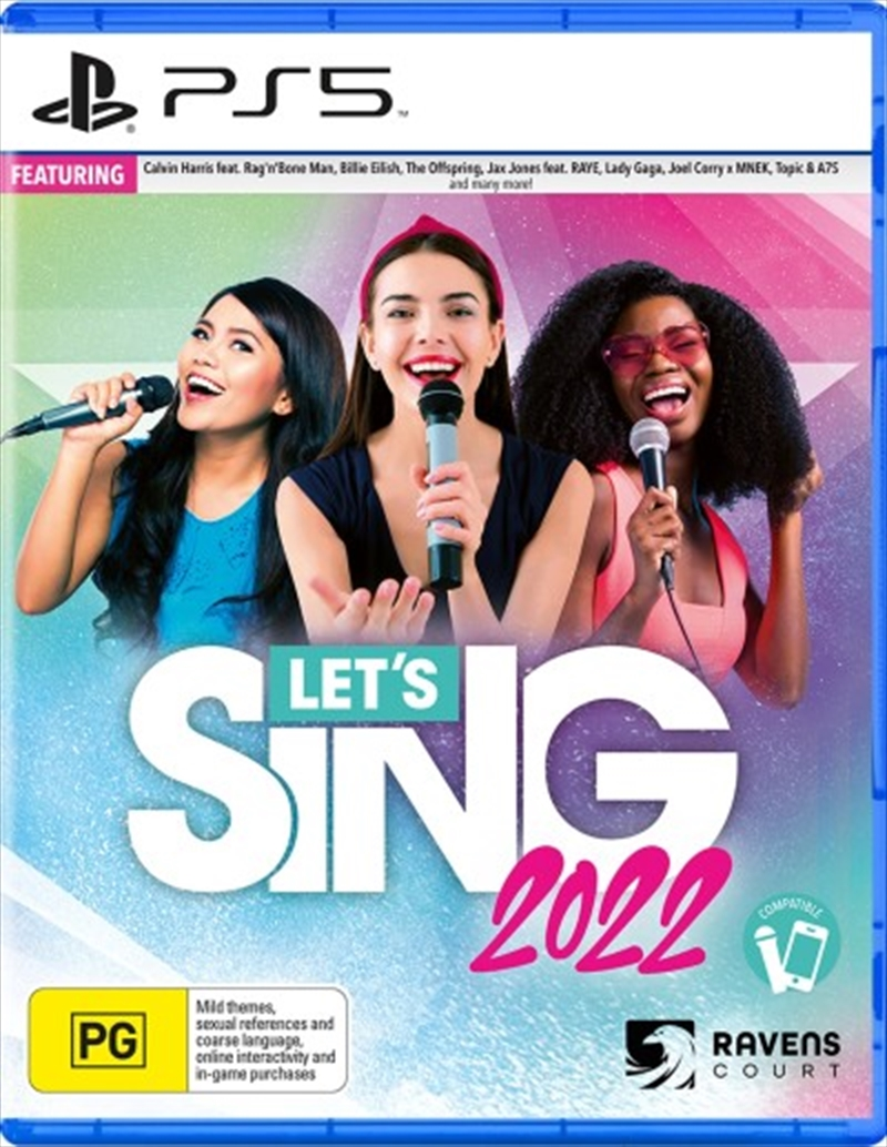 Lets Sing 2022 + One Mic Bundle | Playstation 5