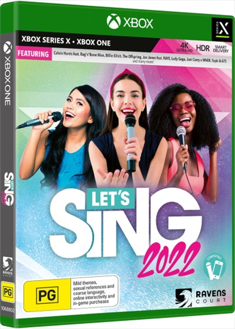 Lets Sing 2022 + One Mic Bundle | XBox One