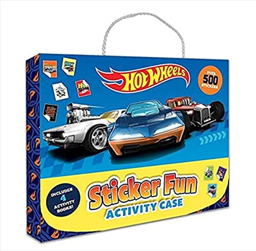 Hot Wheels: Sticker Fun Activity Case (Mattel)   Books