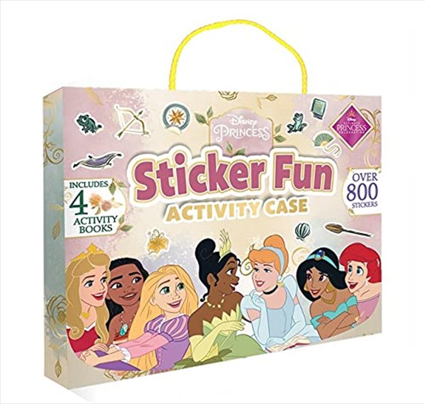 Disney Princess: Sticker Fun Activity Case   Books