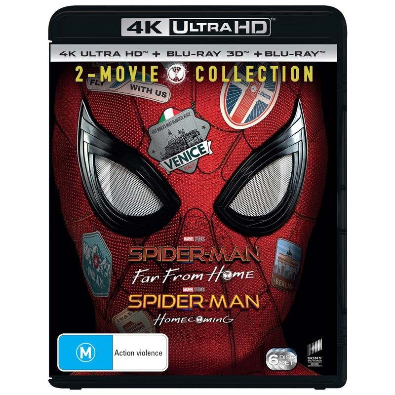 Spiderman - Far From Home/Homecoming - 2 Movie Collection   UHD