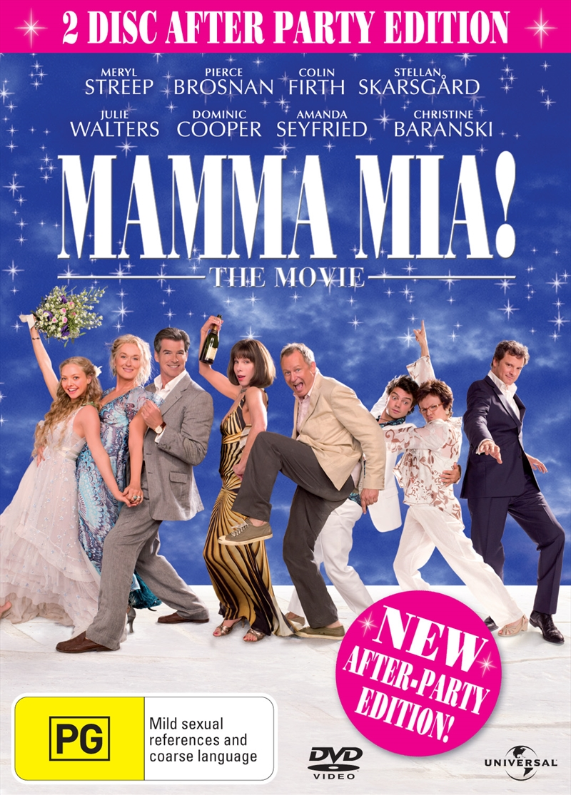 Mamma Mia 2dvd After Party Edition Musical Dvd Sanity