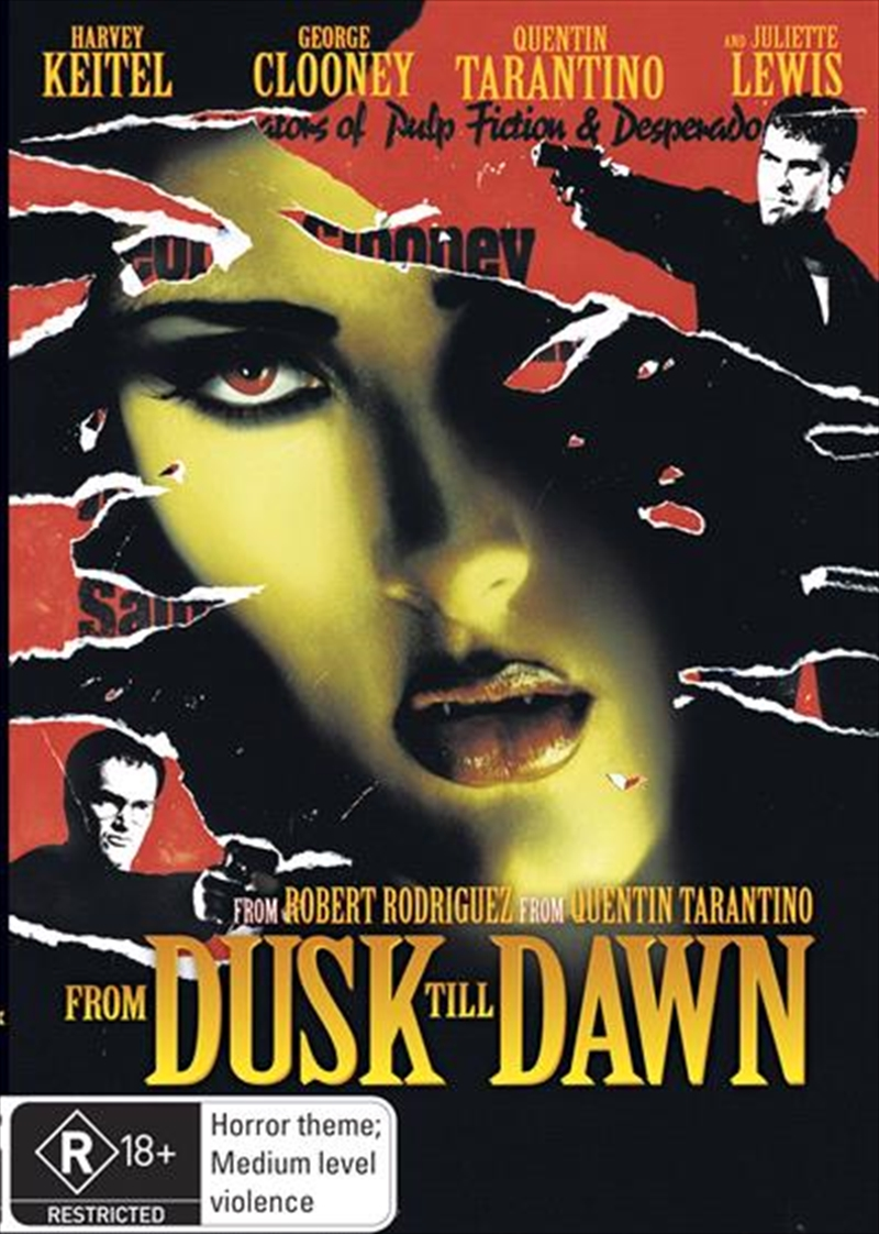Digipack from dusk till dawn (uncut) blu-ray digipack [germany.