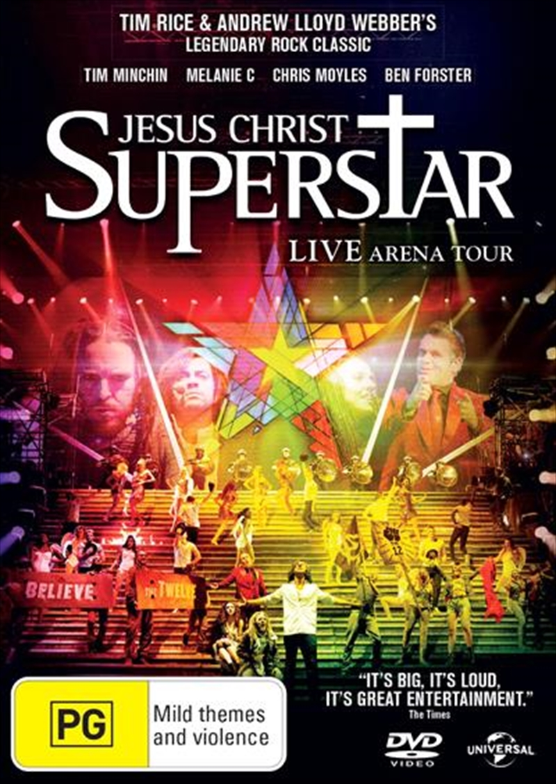 dvd jesus christ superstar
