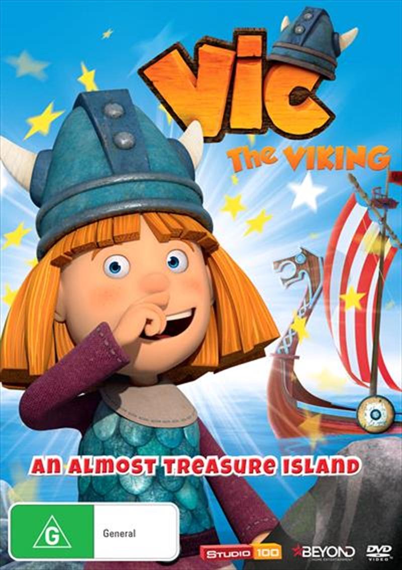 Buy Vic The Viking Almost Treasure Island on DVD | Sanity
