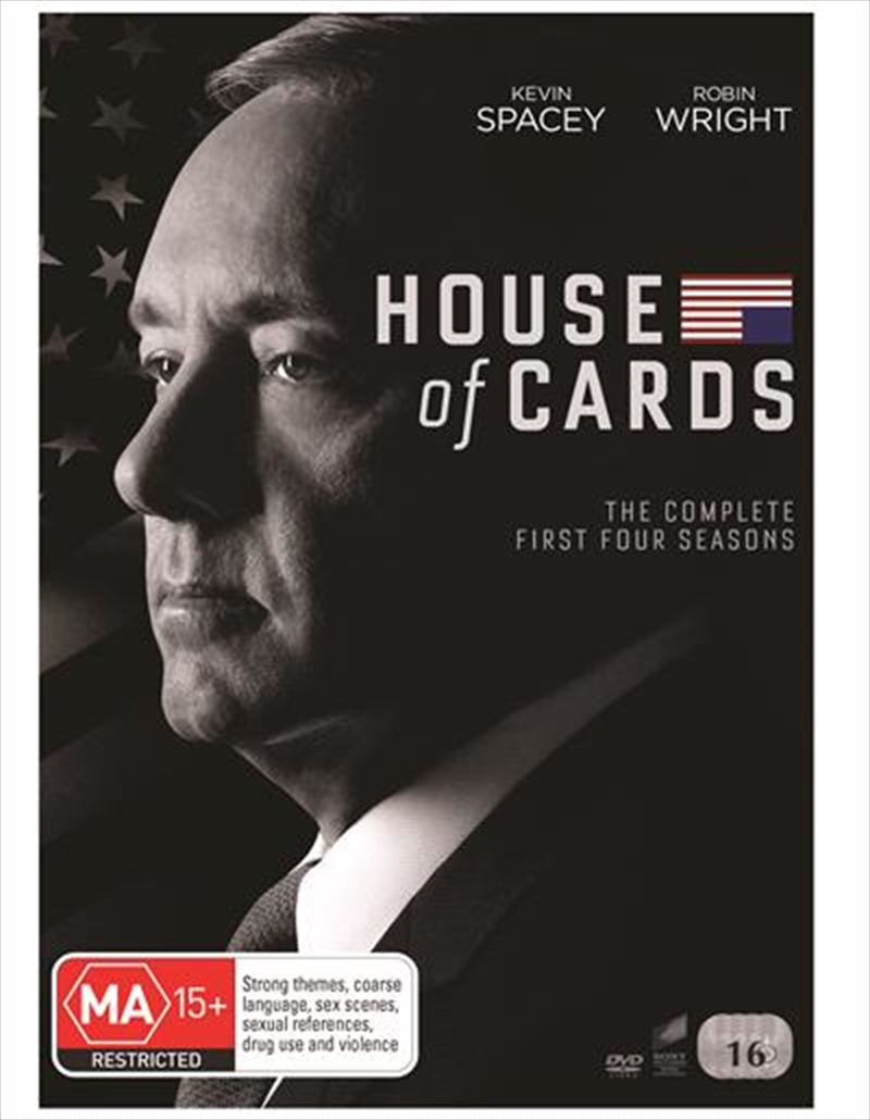 Buy House Of Cards Season 1 4 Boxset Sanity