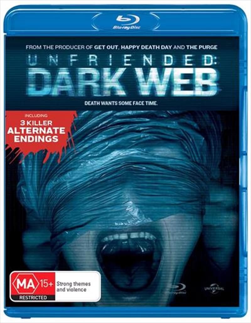 unfriended dark web release date